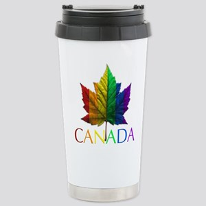 Gay Pride Canada Souven Stainless Steel Travel Mug