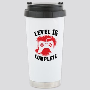 Level 16 Complete 16th Birthday Mugs