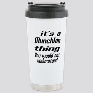 Munchkin Thing You Woul Stainless Steel Travel Mug