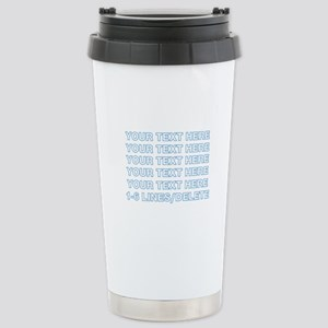 Personalized Cust 16 oz Stainless Steel Travel Mug