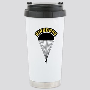 US Army Airborne 16 oz Stainless Steel Travel Mug