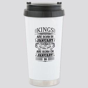 Real Kings Are Born On January 16 Mugs