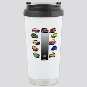 Mustang Gifts Stainless Steel Travel Mug