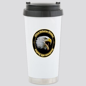 101st Airborne Stainless Steel Travel Mug