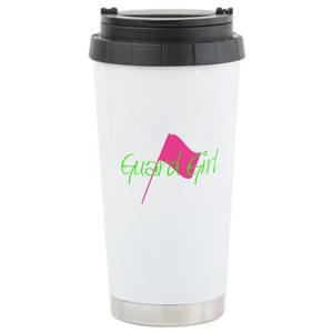 Color Guard Guard Girl Travel Mug