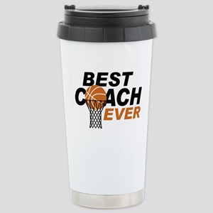 Best Coach ever Stainless Steel Travel Mug