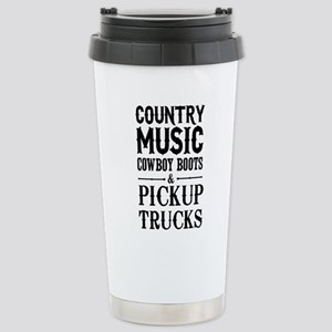 Country Music, Cowboy Boots & Pickup Trucks Travel