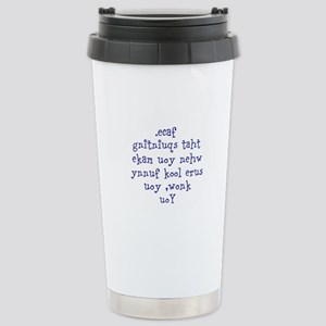 The Squinting Test Travel Mug