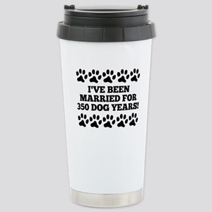 50th Anniversary Dog Years Travel Mug