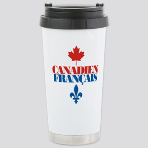 Canadien Francais 2 Stainless Steel Travel Mug