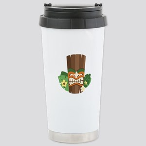 Tiki Mask Travel Mug