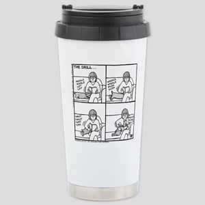 The Drill Stainless Steel Travel Mug