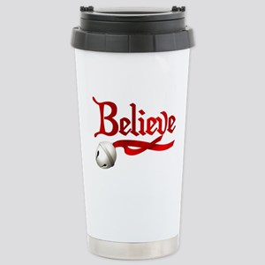 Believe Stainless Steel Travel Mug