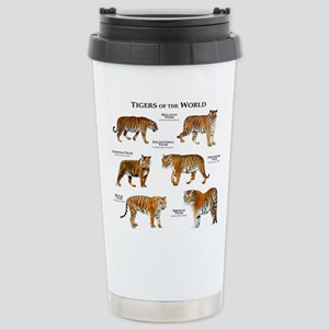 Tigers of the World Stainless Steel Travel Mug
