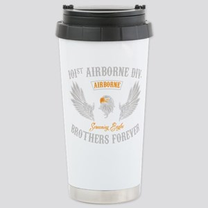 101st Airborne Brothers Stainless Steel Travel Mug