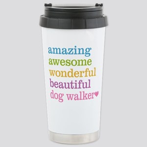 Dog Walker Stainless Steel Travel Mug