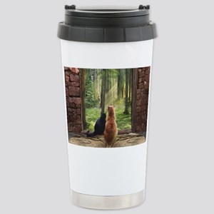 Doorway into Forever nc Stainless Steel Travel Mug