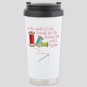 Quilt of Life Travel Mug