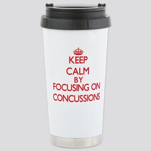 Concussions Stainless Steel Travel Mug