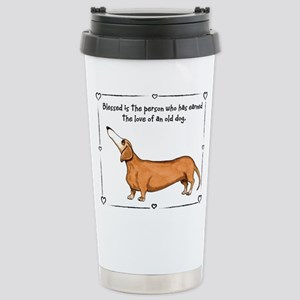 Old dog Love Travel Mug