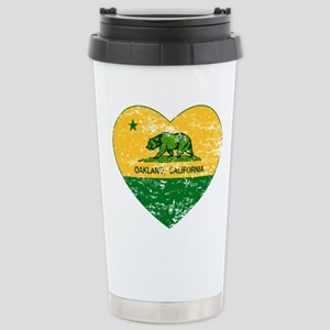 Oakland California green and yellow heart Travel M