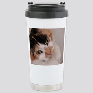 Calico Cat Stainless Steel Travel Mug