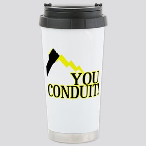 You Conduit Stainless Steel Travel Mug