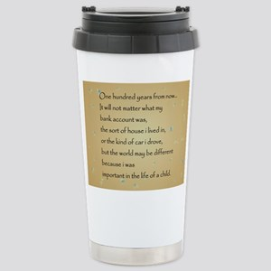 ONE HUNDRED YEARS Stainless Steel Travel Mug