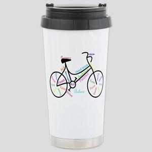 Motivational Words Bike Hobby or Sport Travel Mug