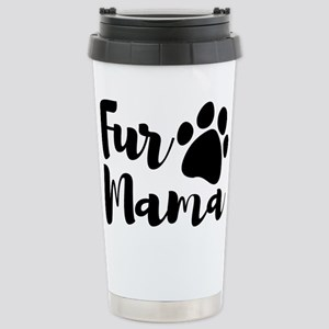 Fur Mama 16 oz Stainless Steel Travel Mug
