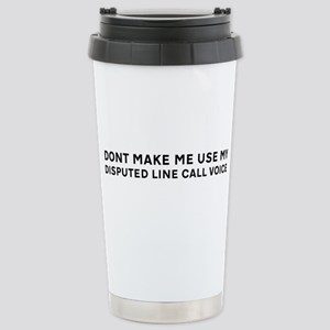 Tennis Stainless Steel Travel Mug