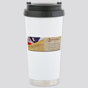 Second Amendment Travel Mug