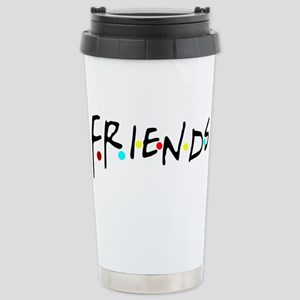 friendstv logo Stainless Steel Travel Mug