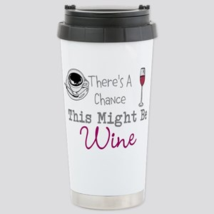 This Might Be Wine Stainless Steel Travel Mug