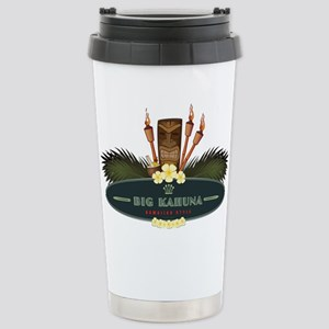 Big Kahuna Tiki Stainless Steel Travel Mug