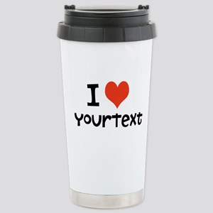 CUSTOMIZE I heart Travel Mug
