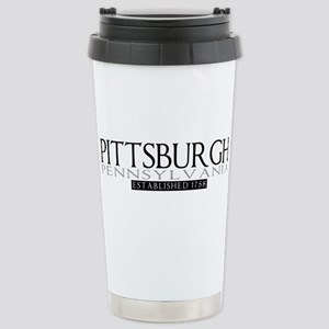 Pittsburgh Pennsylvania Stainless Steel Travel Mug
