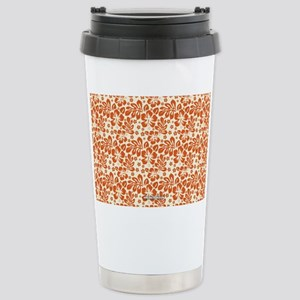 Tropical Carolina Hibis Stainless Steel Travel Mug