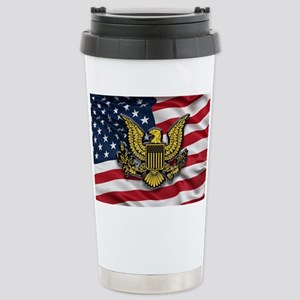 Great seal of the USA w Stainless Steel Travel Mug