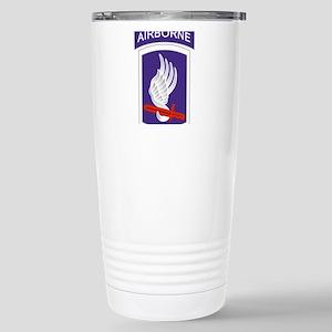 173rd Airborne Stainless Steel Travel Mug