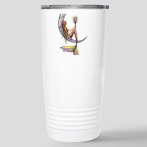 Mermaid Moon Fantasy Art Travel Mug