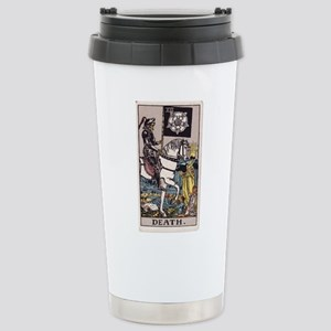 """Death"" Stainless Steel Travel Mug"