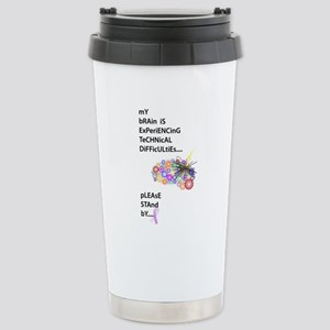 Tech Difficulties Stainless Steel Travel Mug