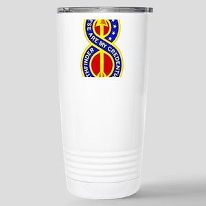 8th Infantry Division Stainless Steel Travel Mug