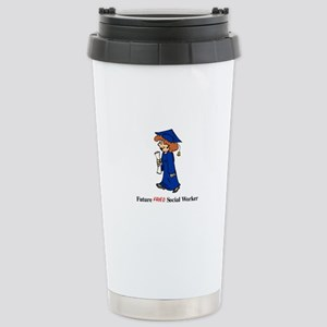 Future Fried SW Stainless Steel Travel Mug
