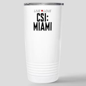 Live Love CSI: Miami Stainless Steel Travel Mug