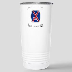 10TH MOUNTIAN DIV Stainless Steel Travel Mug