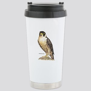Peregrine Falcon Bird Stainless Steel Travel Mug