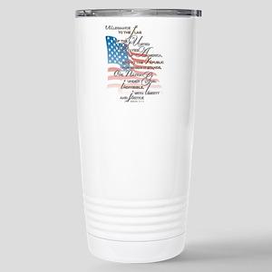 US Pledge - Stainless Steel Travel Mug