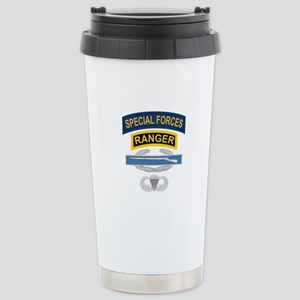 SF Ranger CIB Airborne Stainless Steel Travel Mug